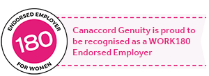 Canaccord Genuity is proud to be recognised as a Work180 Employer