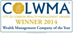 COLWMA wealth management company of the year 2014