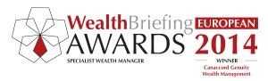 WealthBriefing Awards 2014 specialist wealth manager