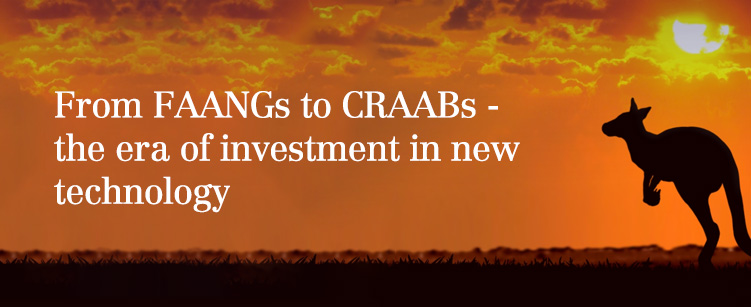 From FAANGs to CRAABS - the new era of investment in new technology